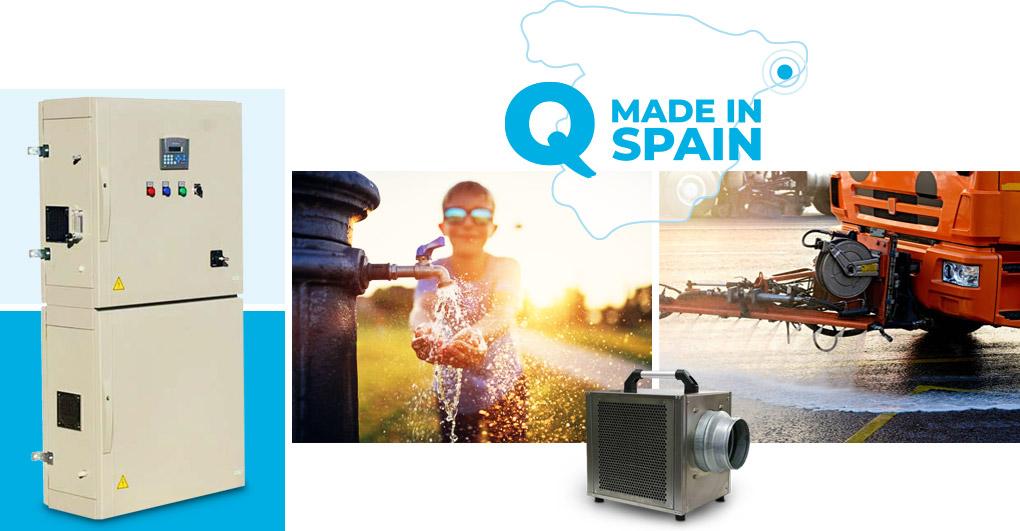 fabricantes generadores de ozono tratamientos líquidos