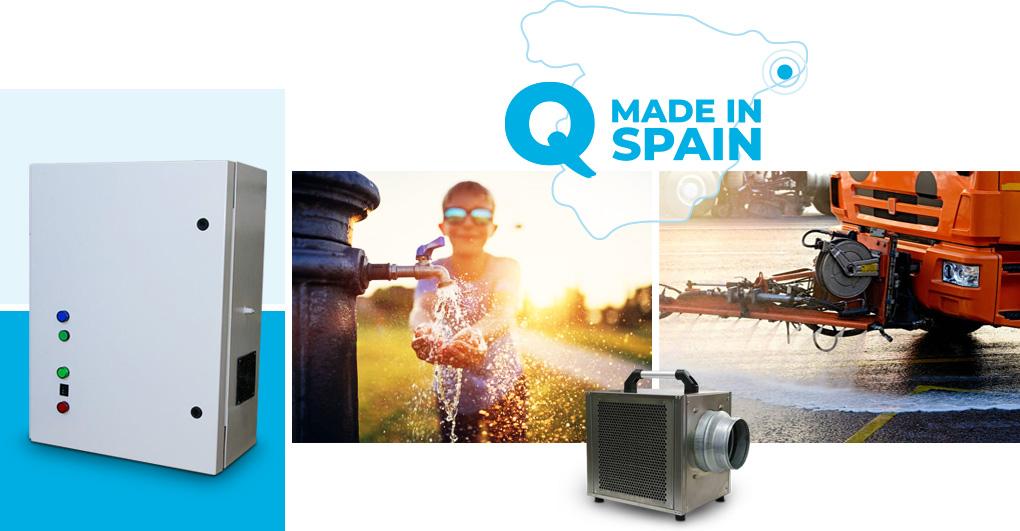 fabricantes de generadores de ozono tratamientos líquidos