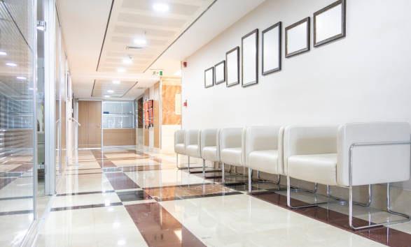 generadores ozono sala espera clínica