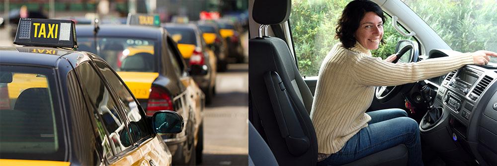 automoción ozono taxi vehículo alquiler